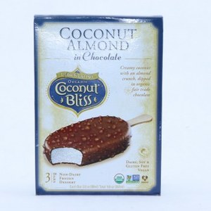 Luna & Larry's Organic Cocoa Almond Ice Cream Stick 9oz