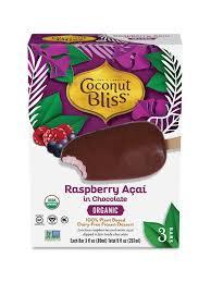 Luna & Larry's Organic Raspberry & Acai Ice Cream Stick 9oz