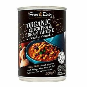 Free & Easy Organic Bean Tagine & Chickpea 400g