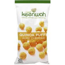 I Heart Keenwah Quinoa Puffs Aged Cheddar 3oz