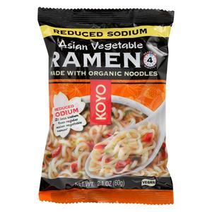Koyo Organic Asian Vegetable Ramen Noodle 2.1oz