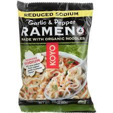 Koyo Organic Garlic & Pepper Ramen Noodle 2.1oz