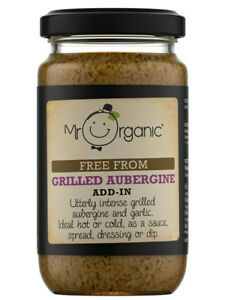 Mr Organic Aubergine Grilled 190g
