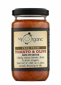 Mr Organic Tomato & Basil 190g