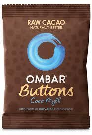 Ombar Coco Mylk Button Chocolate 25g