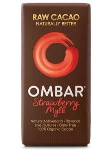 Ombar Organic Strawberry Mylk Chocolate 35g