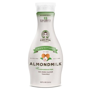 Califia Almond Milk Unsweetened Gluten Free 48oz
