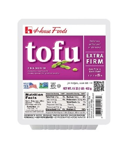House Foods Tofu Extra Firm Purple 12oz
