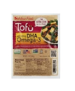 House Foods Tofu Extra Firm Dha Omega3 Gluten Free 12oz