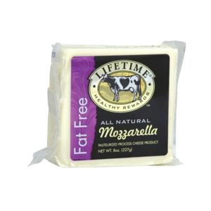 Lifetime Mozzarella Fat free Cheese 8oz