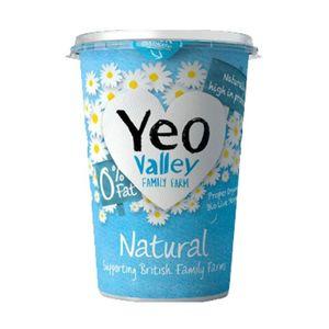 Yeo Valley Organic Fat Free Natural Yoghurt 500g