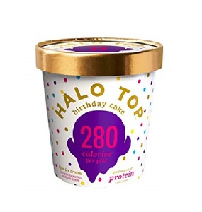 Halo Top Protein Birthday Cake Ice Cream 16oz