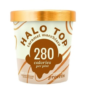 Halo Top Protein Caramel Macchiato Ice Cream 16oz
