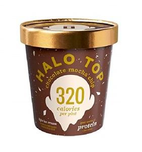 Halo Top Protein Chocolate Mocha Ice Cream Cup 16oz