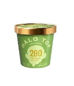 Halo Top Protein Pistachio Ice Cream Cup 16oz
