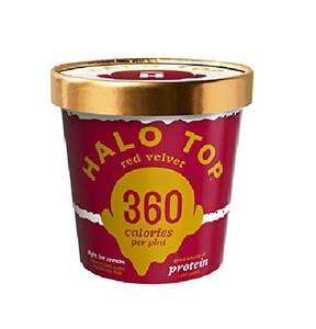 Halo Top Protein Red Velvet Ice Cream Cup 16oz