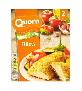Quorn Fillet Garlic & Herbs 200g