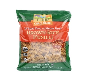 Field Day Organic Brown Rice Fusilli 12oz