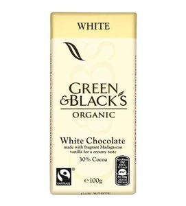 Green & Black's Organic White Cocoa Chocolate 100g