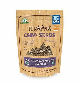 Himalania Organic Black Chia Seeds 10oz