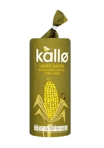 Kallo Lightly Salted Corn Flakes 130g