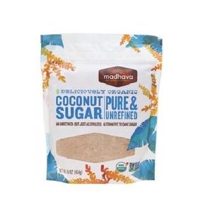Madhava Sweeteners Coconut Sugar Unrefined 16oz