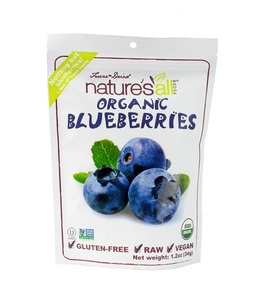 Nature's All Organic Freeze Dried Blueberry 1.2oz