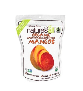 Nature's All Organic Freeze Dried Mangoes 1.5oz