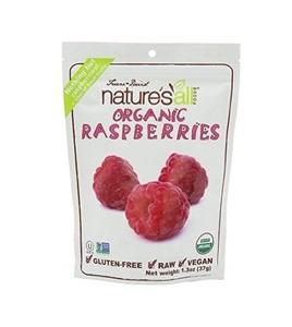 Nature's All Organic Freeze Dried Raspberries 1.3oz