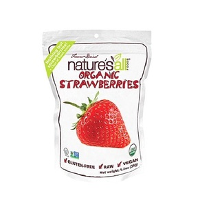 Nature's All Organic Freeze Dried Strawberries 1.2oz