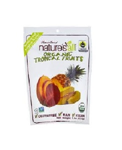 Nature's All Organic Freeze Dried Tropical Fruit 1.5oz