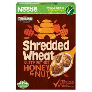 Nestle Shredded Wheat Honey & Nut 500g