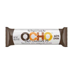 Ocho Organic Dark Chocolate Candy Bar 1.5oz
