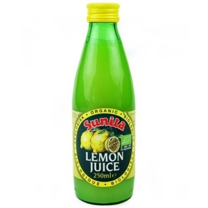 Sunita Organic Lemon Juice 250 Ml 250ml