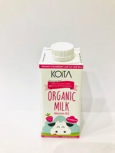 Koita Organic Strawberry Milk 200ml
