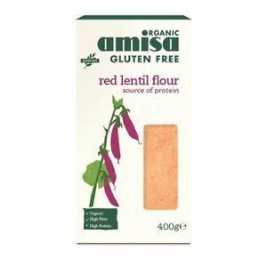 Organic Red Lentil Flour 400g
