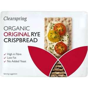 Organic Rye Crispbread 200g