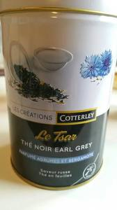 Cotterley Crea Earlgrey Loose Tea 100g