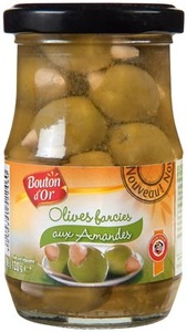 Bouton Dor Olive With Almond 120g
