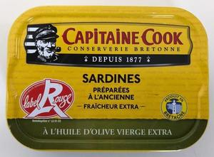 Capitaine Cook Sardines In Extra Virgin Oil 115g