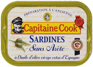 Capitaine Cook Sardines In Olive Oil 115g