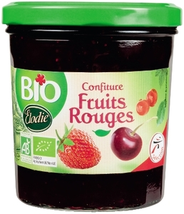 Elodie Bio 3 Fruits Jam 360g
