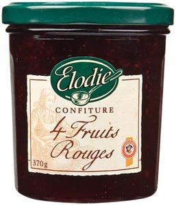 Elodie 4 Fruits Jam 370g