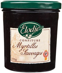 Elodie Blueberry Jam 370g