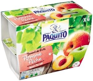 Paquito Apple Peach Compote 100g