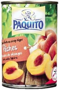 Paquito Chunck Peach In Syrup 230g