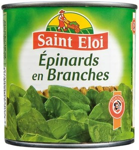 St Eloi Spinach Leaves 265g
