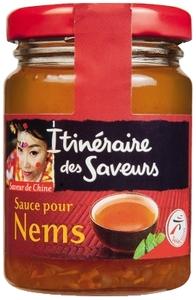 Itineraire Des Saveurs Sauce Nems Glass Jar 90g