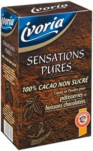 Ivoria Cacao Non Sucre 250g