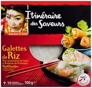 Itineraire Des Saveurs Rice Galette 100g
